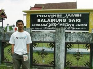 Depan Balairung Jambi