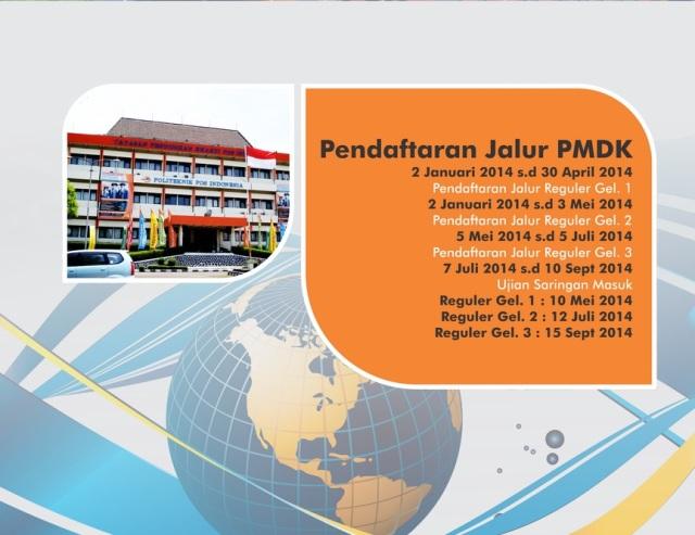 Penerimaan Mahasiswa Baru Politeknik Pos Indonesia 2014