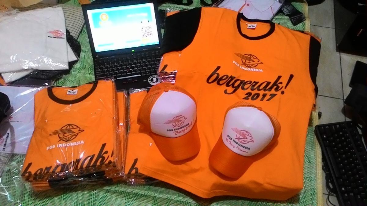 Pembuatan Kaos Pos Indonesia Bergerak Cab. Tebingtinggideli